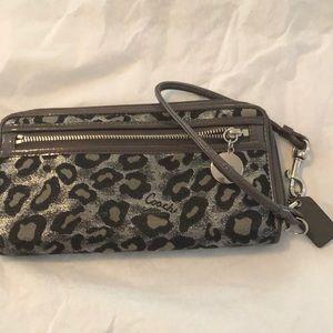 Coach Bags - RARE Coach wristlet/ wallet